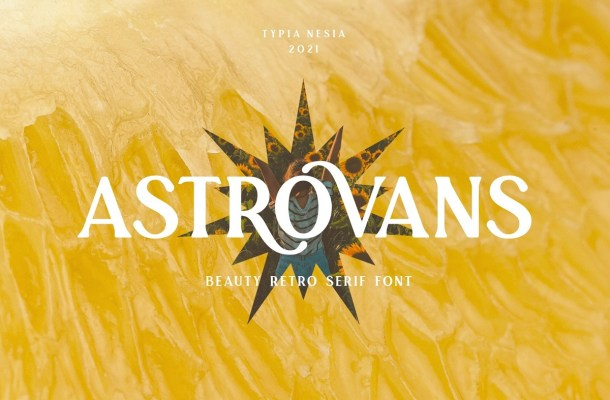 Astrovans Font