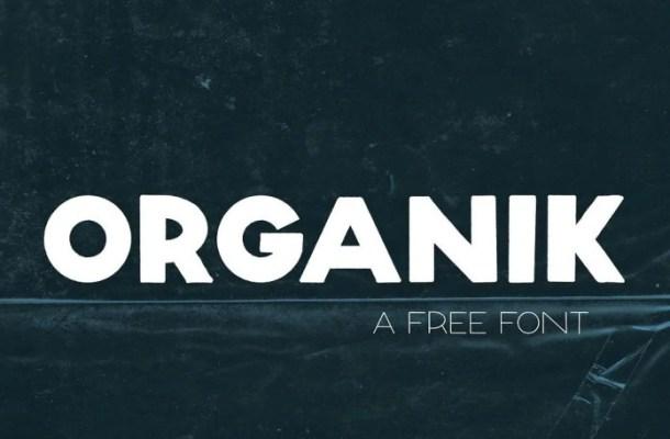 Organik Font
