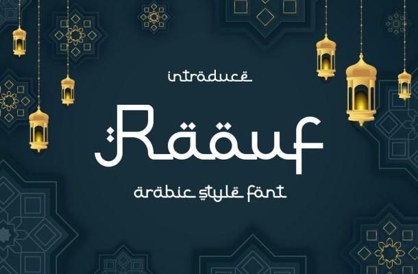 Raouf-Font