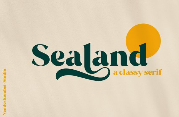 Sealand Font