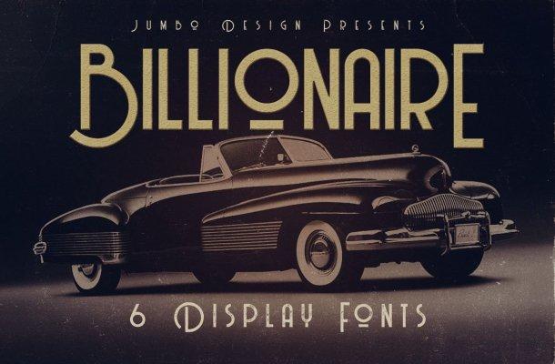 Billionaire Font