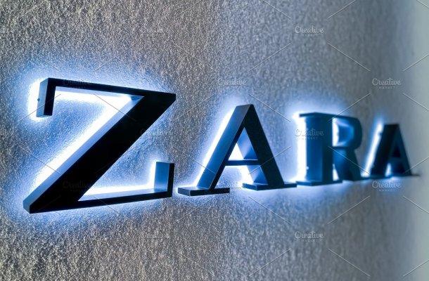 Zara Logo Font