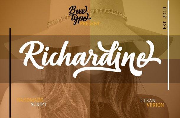 Richardine Script Font
