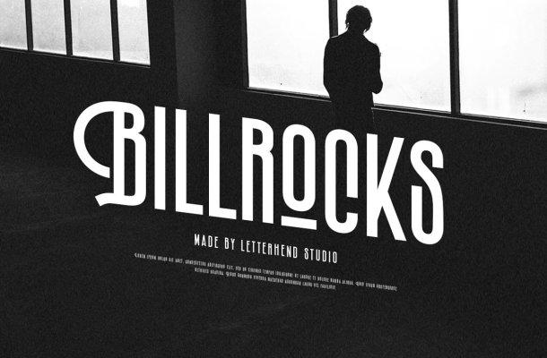 Billrocks Font