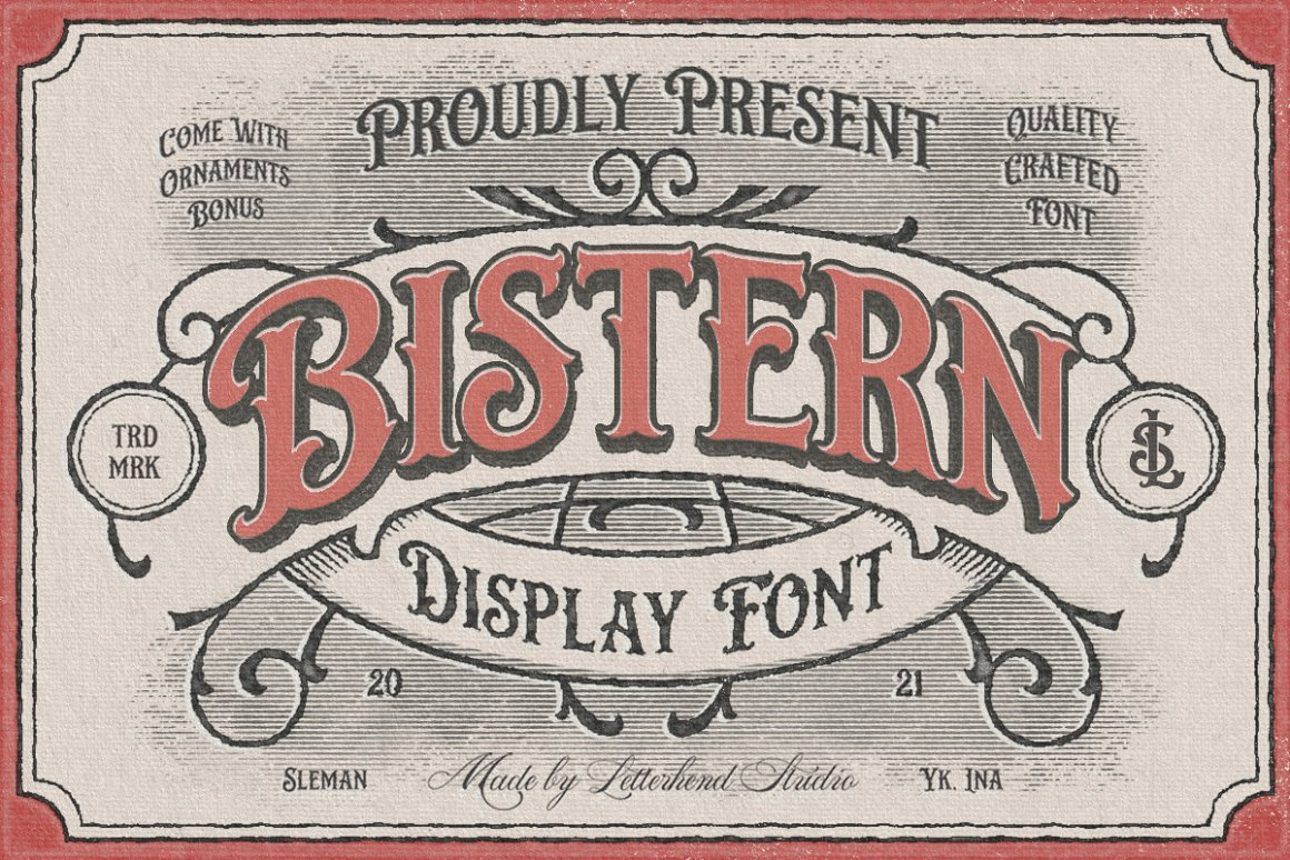 Bistern-Font