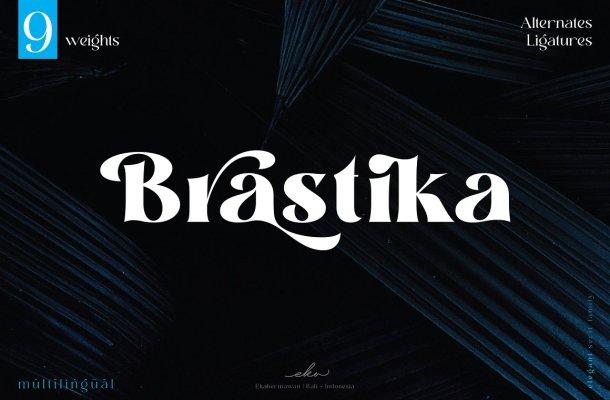 Brastika-Font