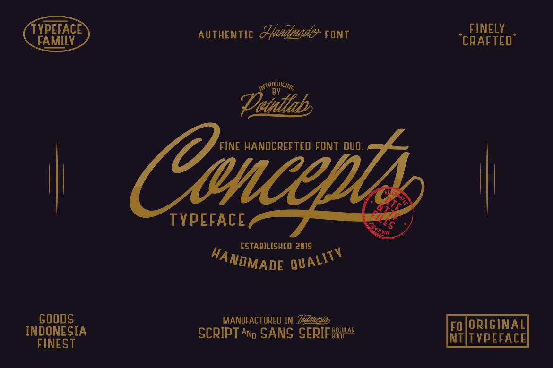 Concepts-Font