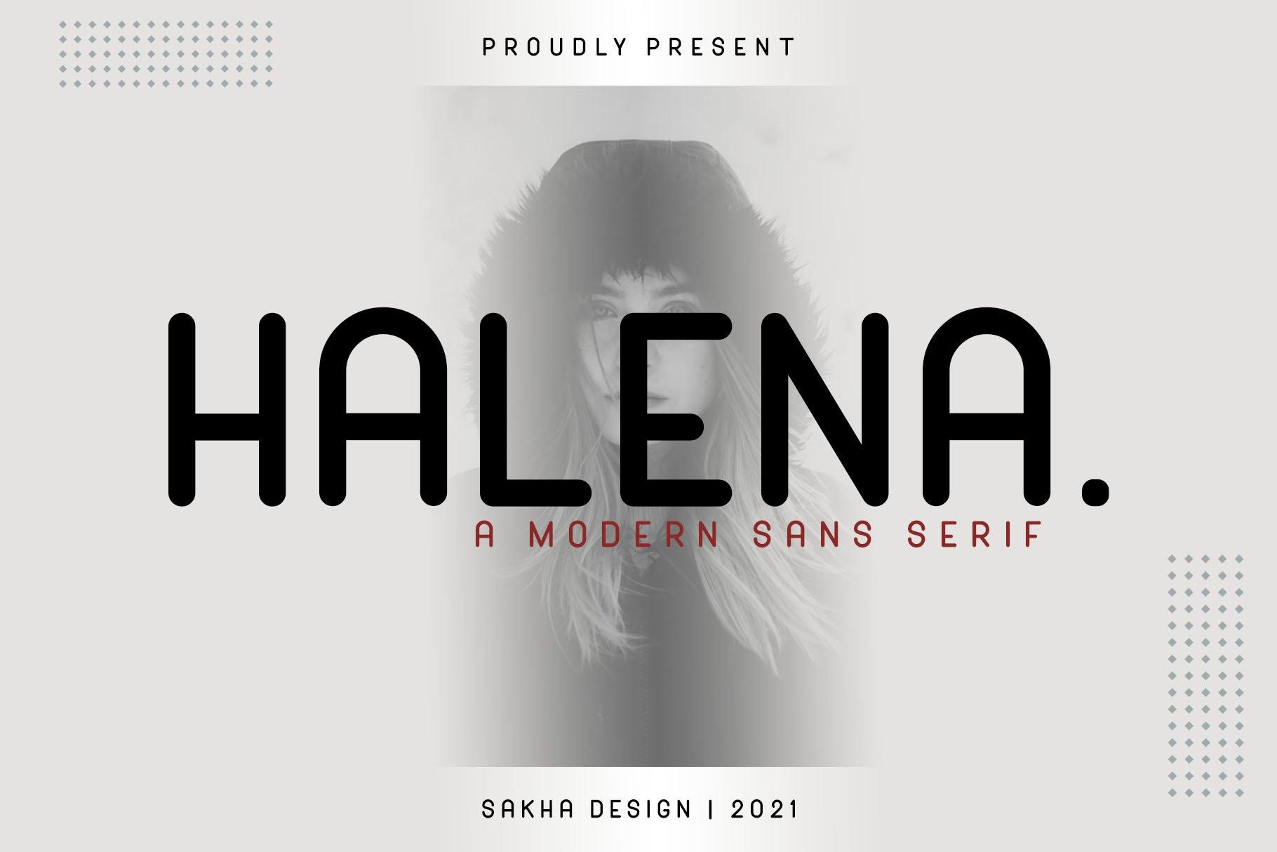 Halena-Font