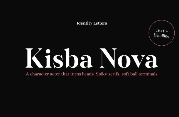 Kisba Nova Font Family