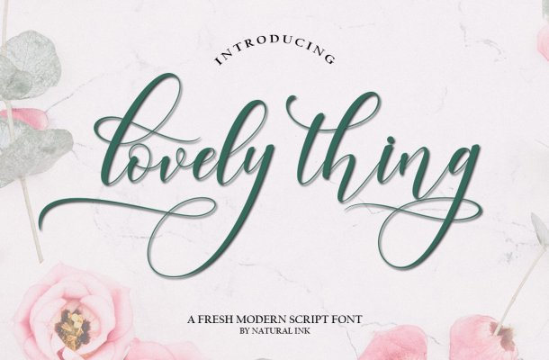 Lovely-Thing-Font