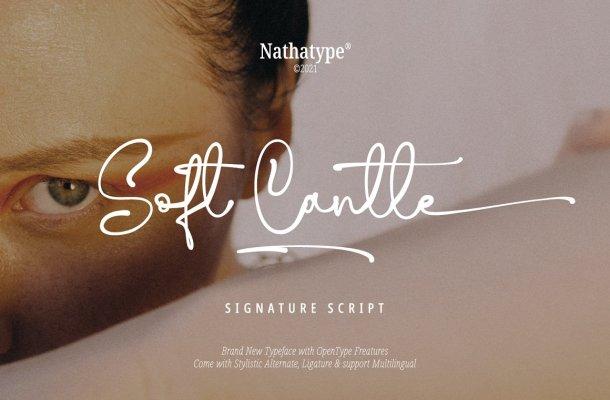 Soft Cantle Font
