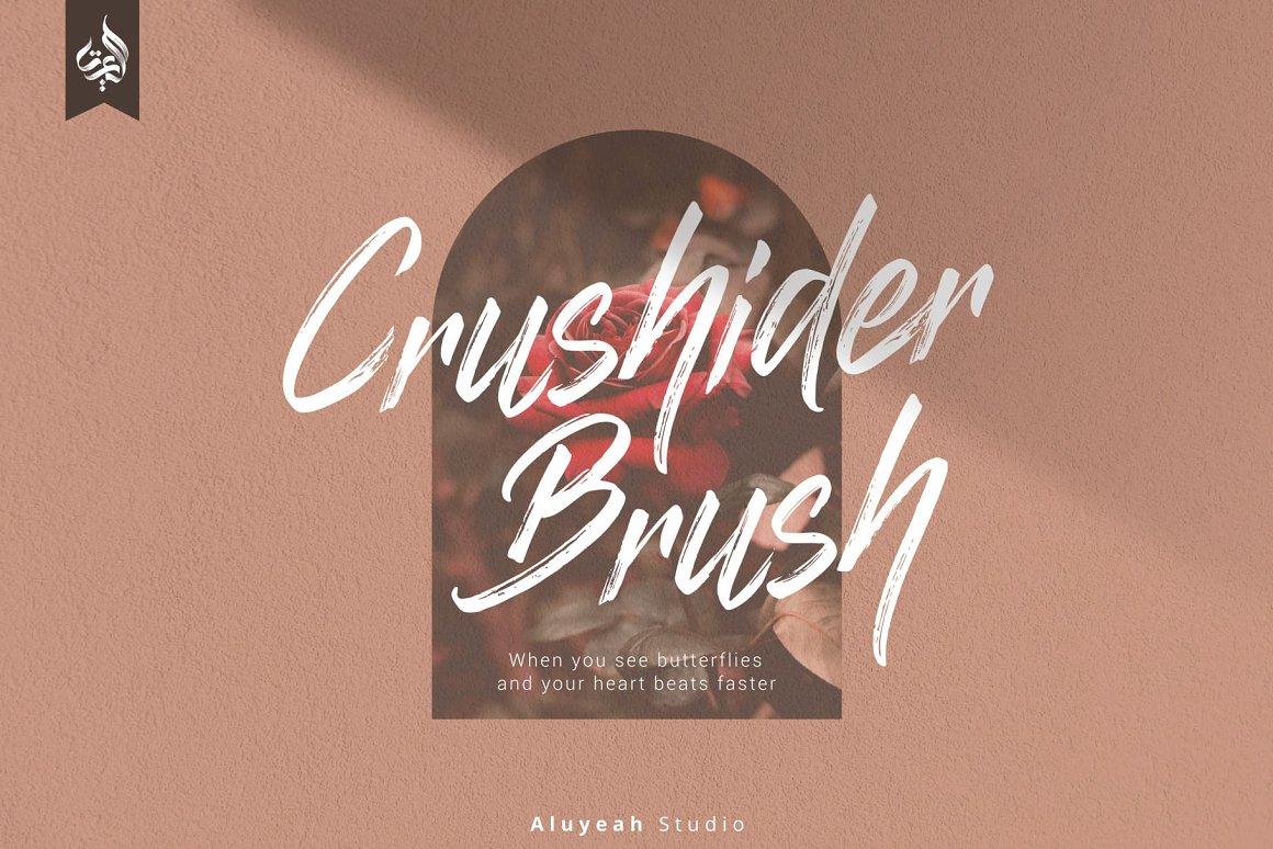 Crushider-Brush-Font