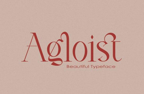 Agloist Serif Font