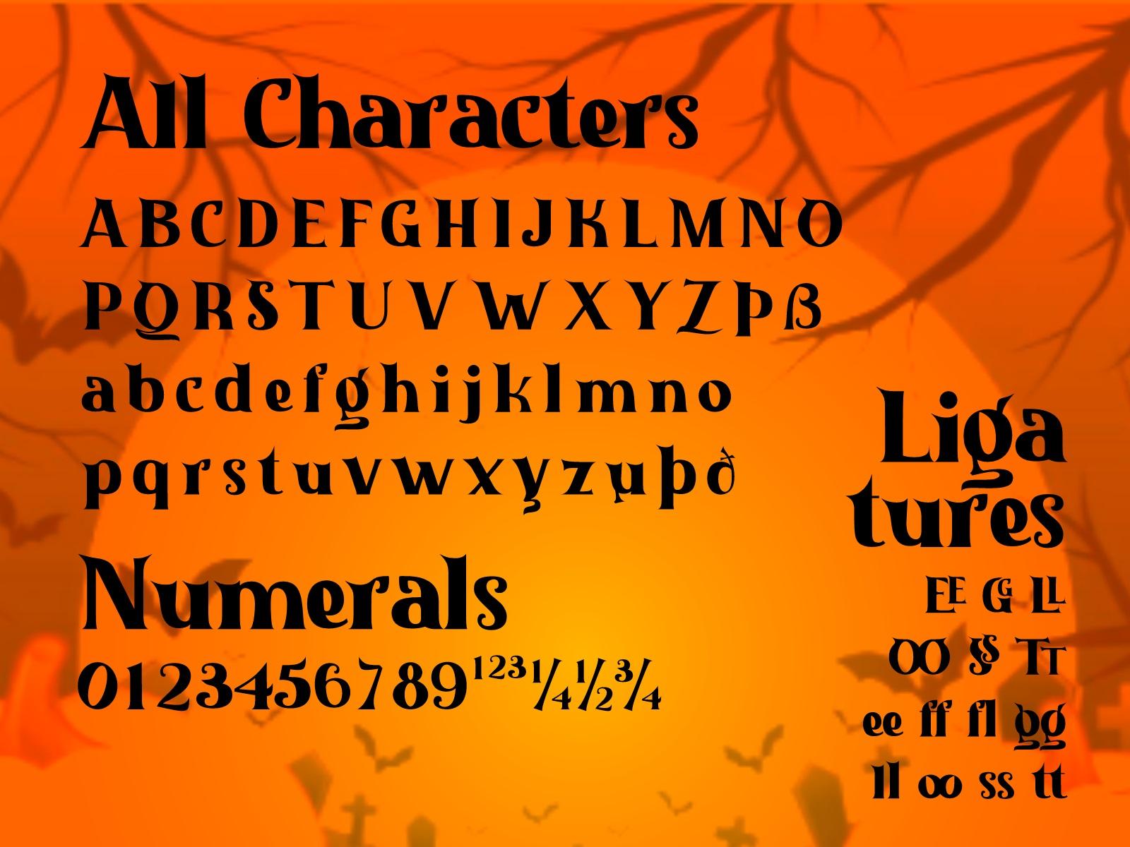 Halloween Nightmare Font-3