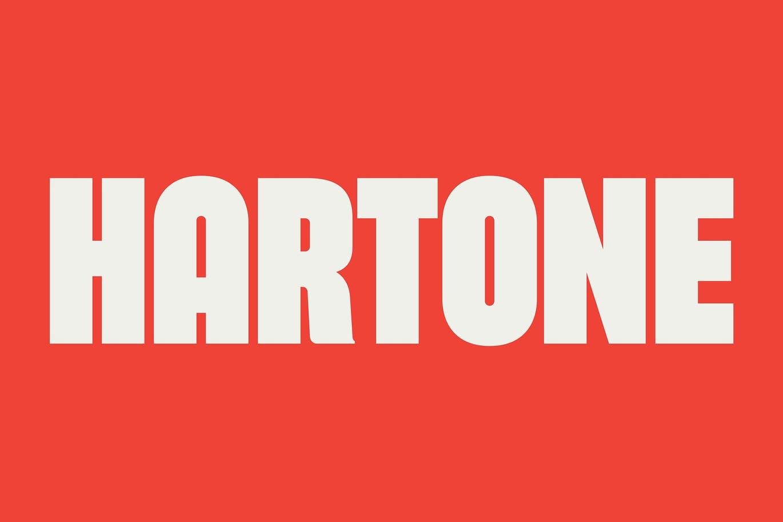 Hartone Display Font