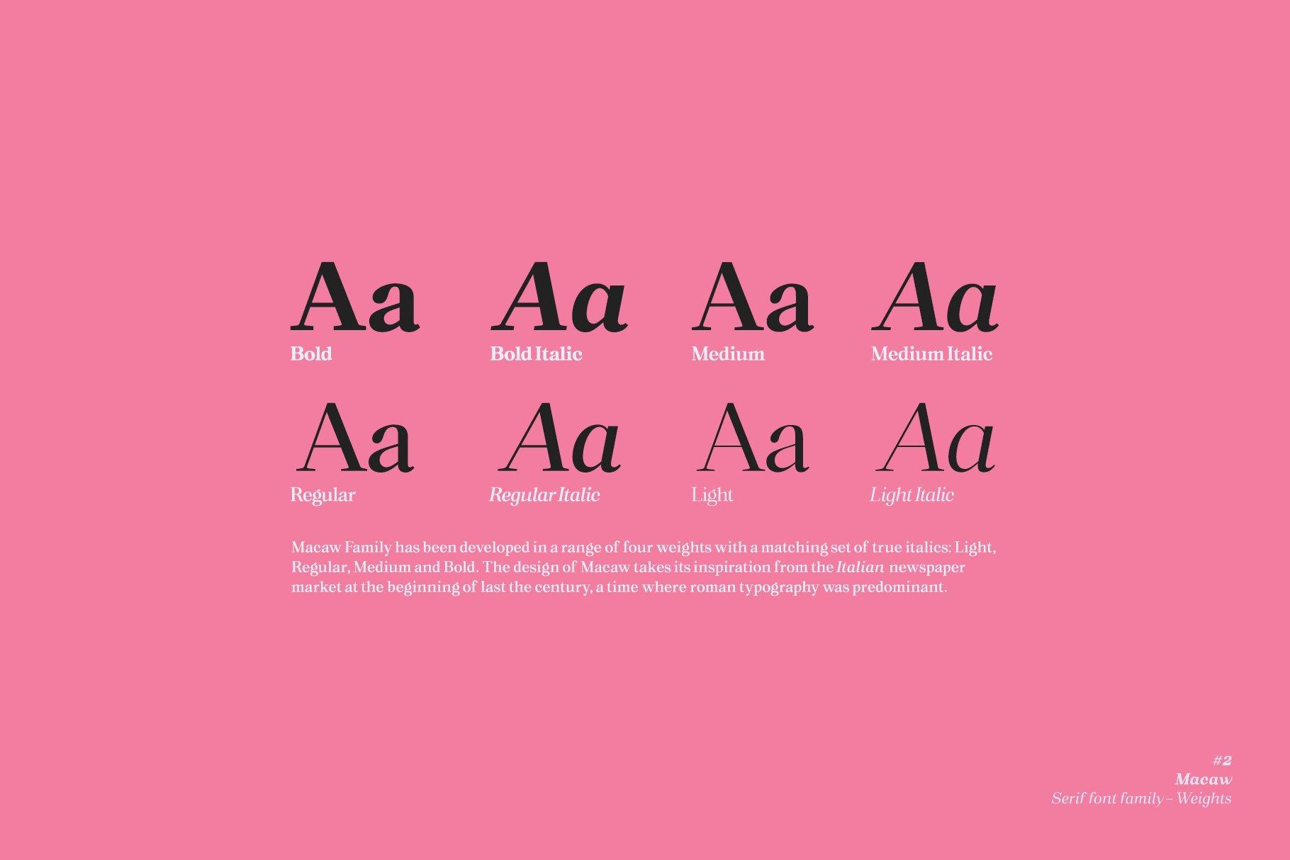 Macaw Font-3