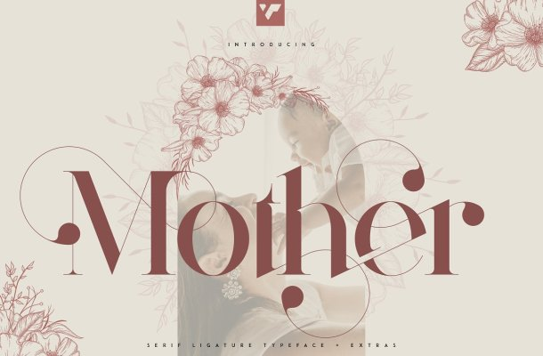 Mother Serif Typeface