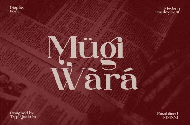 Mugiwara Font