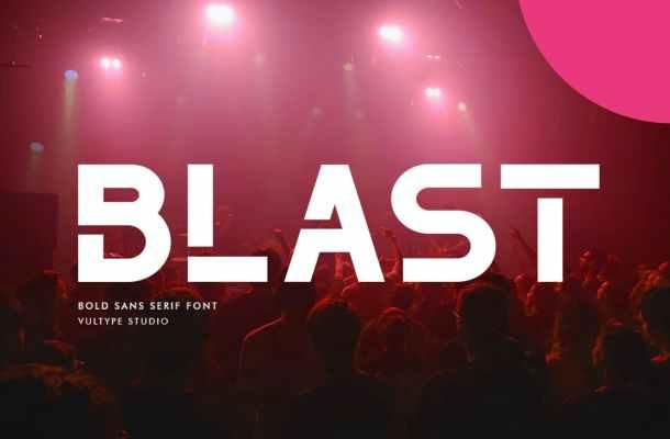 The Blast Font