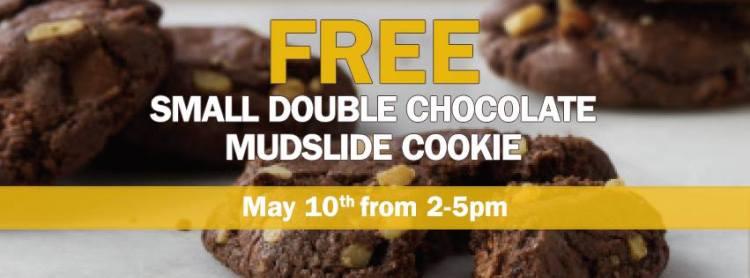 Free Mudslide Cookie at Au Bon Pain, May 10