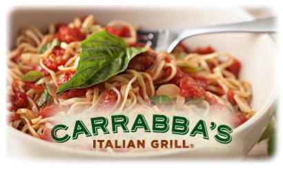 BOGO on lasagna at Carraba's through July 30