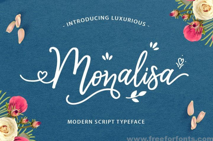 Monalisa Luxurious Font Free Download