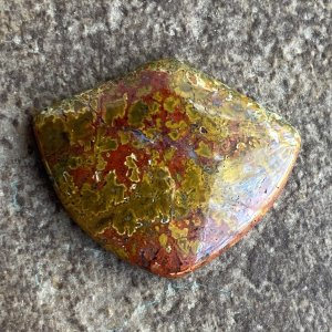 Polmosa Plume Agate Cabochon