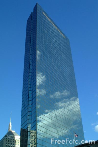 John Hancock Tower Boston Massachusetts Pictures Free Use Image 1211 11 82 By