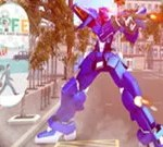 US Police Robot Transform Robot Fighting