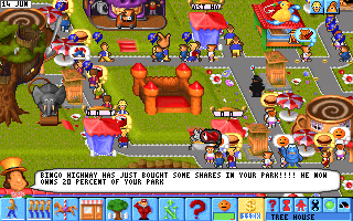Theme Park Old MS DOS Games Download For Free Or Play