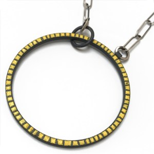 """And One"" Yellow Necklace by Mary + Lou Ann"