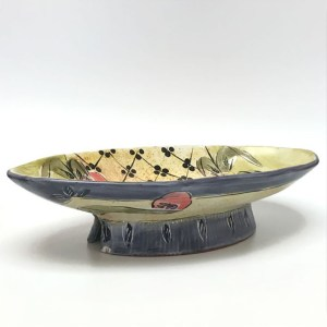 Oval Bowl by Posey Bacapoulos