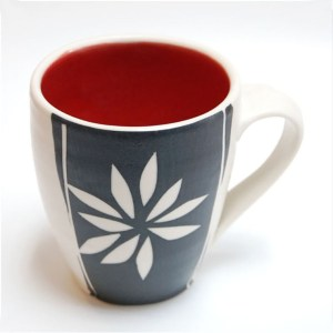 Red Mug by Rita Vali