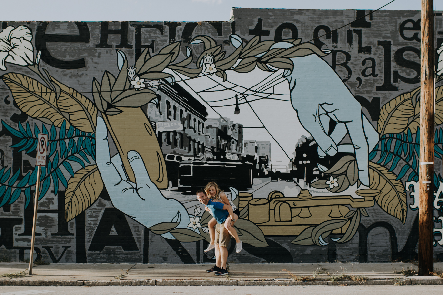 tampa mural shoot   freehearted film co   tampa wedding photography   tampa wedding photographer