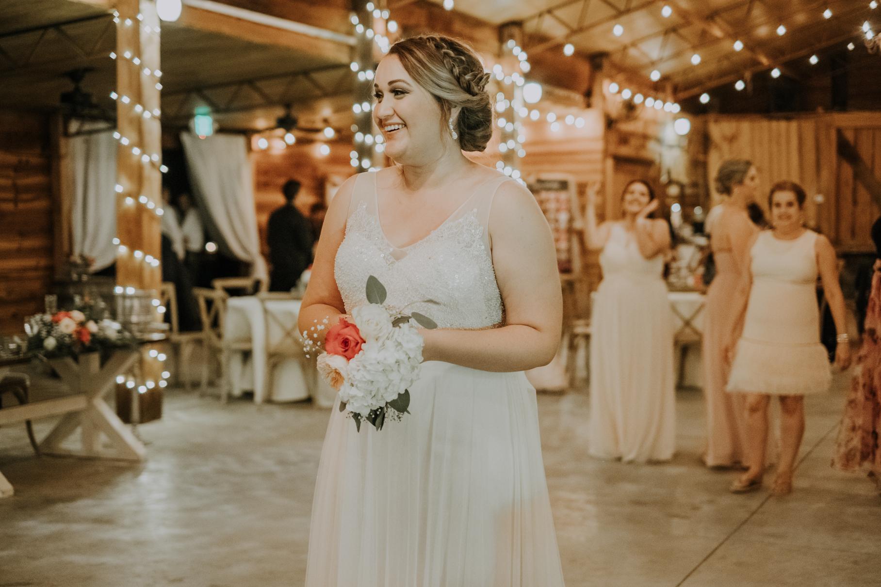 katie + chris | florida rustic barn wedding | plant city wedding | tampa wedding photographer