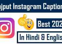 Rajput-Caption-For-Instagram-In-Hindi-English