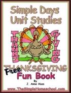 Free Simple Schooling Thanksgiving Free Fun Book!