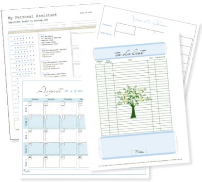 Free Life Management Binder Printables