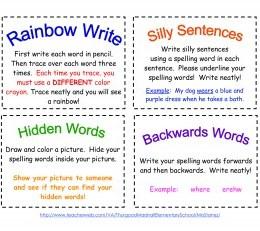 Free Printable Spelling Cards