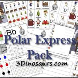Free Christmas Printables: Polar Express Pack (70-Pages)