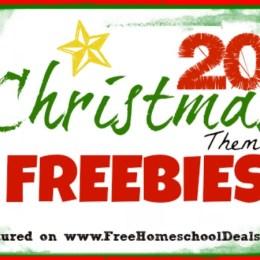 Free Homeschool Curriculum: 20 Christmas Themed Freebies