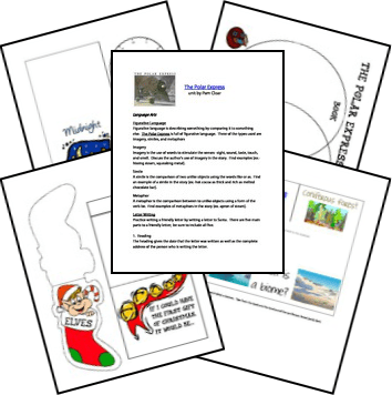 Free Polar Express Lapbook and Unit Study