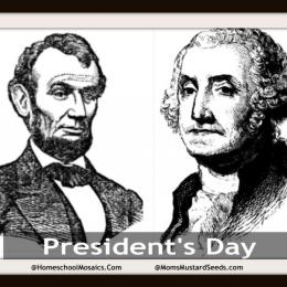 Free President's Day Unit Study and Notebooking Pages