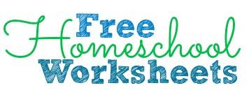 Free Homeschool Worksheets