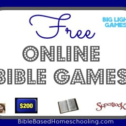 Free Online Bible Games