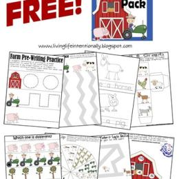 Free Farm Printable Pack ( Instant Download!)