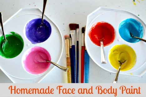 Homemade Face & Body Paint