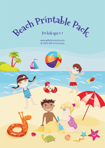 Free Worksheets: Beach Printable Pack For Ages 2-7