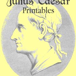 Free Julius Caesar Unit Study Printables