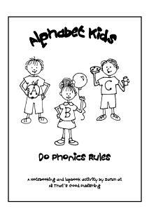 Free Phonics Printables: Alphabet Kids Do Phonics Rules